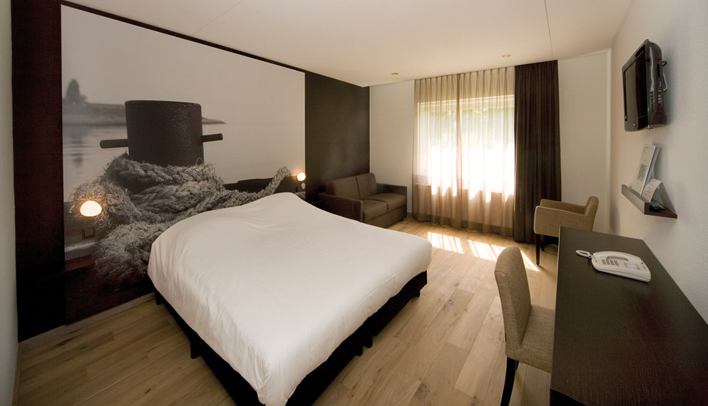 Hotelkamer in zeeland fletcher landgoed hotel renesse